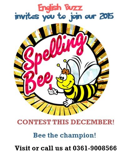 Our Spelling Bee is buzzing around!