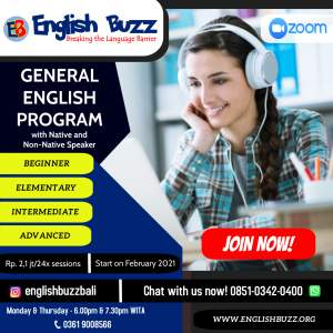 General-English-Program - Dibuat dengan PosterMyWall